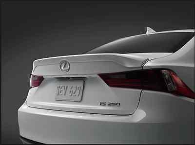 Lexus Oem Factory Rear Spoiler 2014 2017 Is250 Is350 Ultra White 083