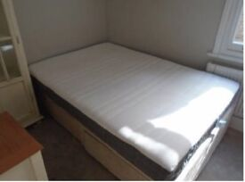 Double Divan Bed- Good Condition
