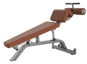 NEW Commercial Adjustable Decline Bench / Multi angel correct sit up board with leg hold down