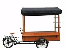 *** Brand New Electric/Pedal Food Trike ***