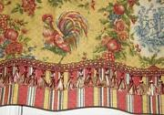 Rooster Valance