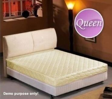 •Queen Size Bed Mattress   •Spring Loaded Design   •Deluxe Quilti