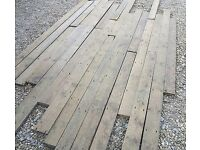 Old floorboards wanted and taken away for free.