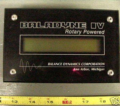 Balance Dynamics Baladyne Iv Rotary Powered Remote 2121 Rev 1.1