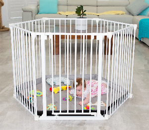 3in1 Metal Playpen and Barrier with Swing Gate Like NEW Gold Coast Region Preview