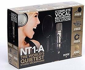 Brand New Rode NT1-A Condenser Microphone