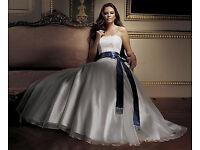 Caroline Castigliano Wedding Dress Ivory Size 12