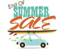 UP TO 50% OFF @ COME BY CHANCE ANTIQUES - END OF SUMMER SALE!!!