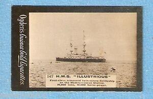 1901-OGDENS-SHIPPING-CIGARETTE-CARD-147-HMS-ILLUSTRIOUS