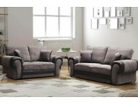 Comfy 3&2 sofas with FREE Footstool