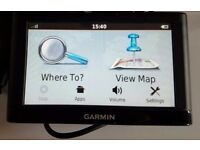 Garmin Nuvi 54LM GPS Sat nav - UK + Europe maps
