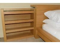 Malm storage unit for ikea bed