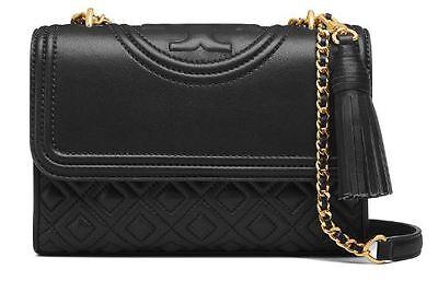 TORY BURCH Fleming Small Convertible Shoulder Bag 31382 [Black]