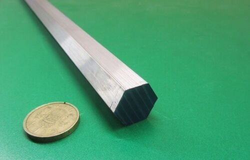 "6061 Aluminum Hex Rod 3/4"" Hex x 1 Ft Length"