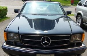 Classic Mercedes 1990 560 SEC Mint Condition Low Mileage
