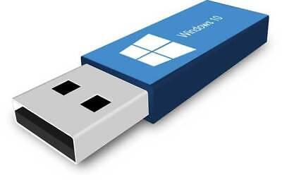Microsoft Windows 10 Pro Authentique License 32-64bit+clé USB amorçable 64bit