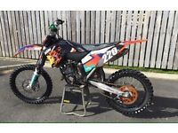 Ktm 125sx motocross bike not yz Kx cr 250 450 85 crf kxf