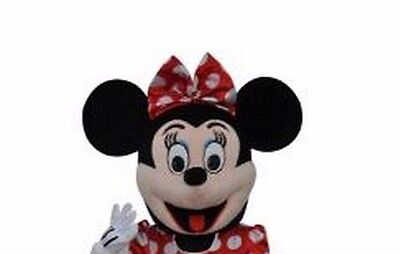 Halloween Minnie Mouse Mascot Costume Cartoon Character Fancy Dress (Only Head) - Cartoon Character Costumes Halloween
