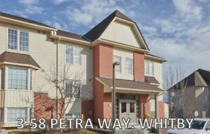 WHITBY-CONDO TOWNHOME  FOR SALE-PETRA WAY