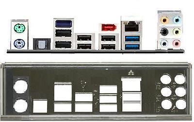 ATX Blende I/O shield Asus P8P67 B3 Rev3.0 OVP NEU #104 io backplate bracket new
