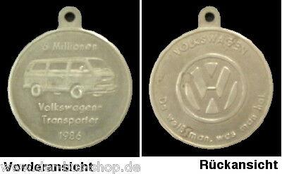 VW Bus T3 - Münze / Medaille - Sonderprägung 1986