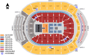 Up to 4 tickets for Shania Twain @ ACC Friday, Jul 6