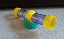 Hamster seesaw tube