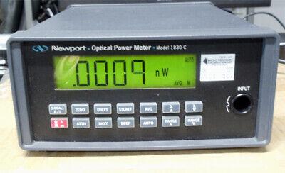 Newport 1830c Optical Power Meter