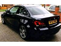 BMW 1 SERIES 118d M SPORT PLUS LTD EDITION RARE COUPE DIESEL BLACK FSH OWNED SINCE NEW