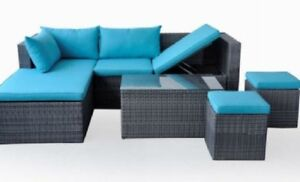 BRAND NEW LARGE RATTAN PATIO FURNITURE SETS! NEW PADDLE BOARDS!