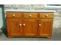 Pine sideboard ( free local delivery)