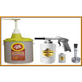 Fluid Film 1 gallon Undercoat kit with pump lid and Spray gun with 2 bottles