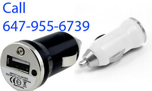 Car Plug, USB for Cell phone, iPhone, Samsung, Galaxy, iPod,