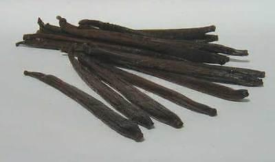 "10 extract grade B Tahitian Vanilla beans 4-6 inch ""Very Dry"""