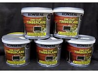 Ronseal Timbercare external fence paint