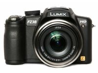 Panasonic Lumix DMC-FZ38 Digital Camera - Black, LEICA lens(12.1MP, 18 x Optical Zoom) 2.7 inch LCD