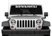 Jeep Windshield Decal