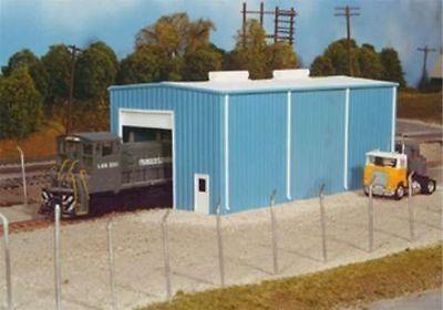 Pikestuff (HO-Scale) #541-5000 Small Engine House (blue) - NIB
