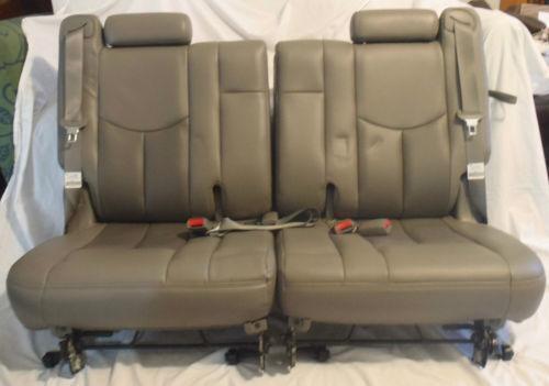 tahoe third row seat ebay. Black Bedroom Furniture Sets. Home Design Ideas