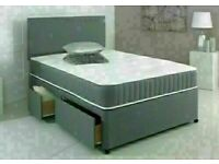 🔵💖🔴MAKE THE COMFORT DEAL🔵💖🔴Double or King Size Divan bed Base + Orthopedic Mattress/drawers