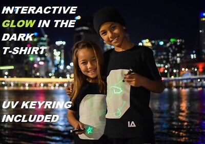 Glow Draw (INTERACTIVE DRAW ON GLOW IN THE DARK T-SHIRT BY ILLUMINATED)