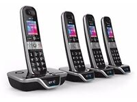 BT 8600 Advanced Call Blocker Cordless Home Phone With Answer Machine (Quad)