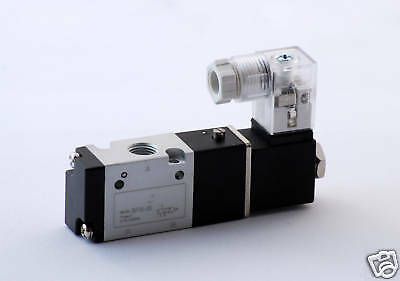 1pc 3 Way Air Solenoid Valve 18 Npt Normally Closed Mettleair 3v110-06-dc12