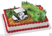 Golf Cake Decorations