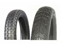 YAMAHA YBR125 FRONT & REAR TYRE SET MAX MOTORCYCLE 90/90-18 2.75/18