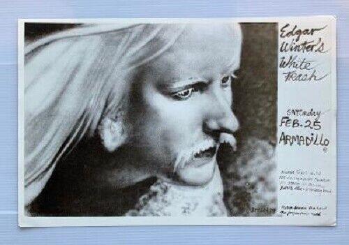 Edgar Winter Concert Poster 1978 Austin