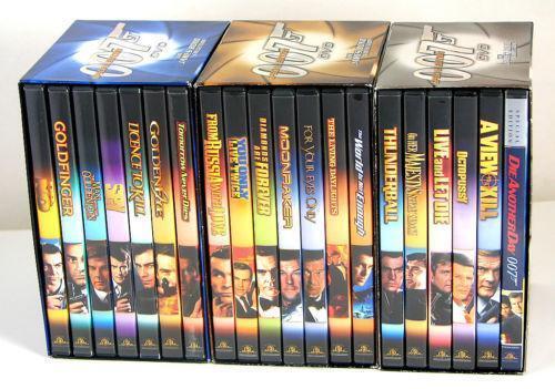 James Bond Box Set Ebay