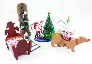 Jun-Planning-Nightmare-Before-Christmas-Jack-Trading-Figures-Series-1-Set-Of-4