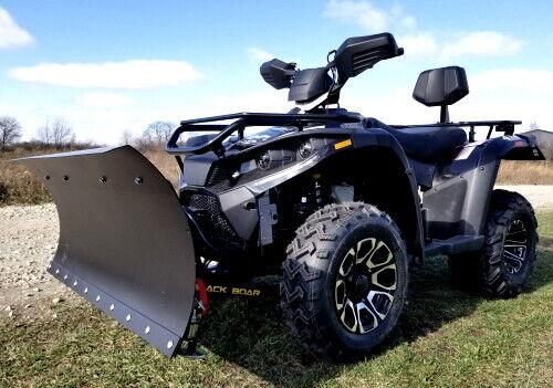 MSA 300cc 4x4 ATV With Snow Plow