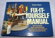 Readers Digest Fix It Yourself Manual